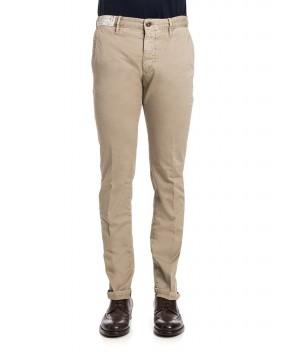 PANTALONE CHINO BEIGE - Pantaloni INCOTEX