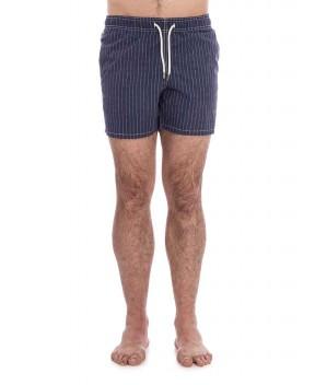 COSTUME GUSTAVIA BLU A RIGHE - Costumi&Beachwear MC2 SAINT BARTH