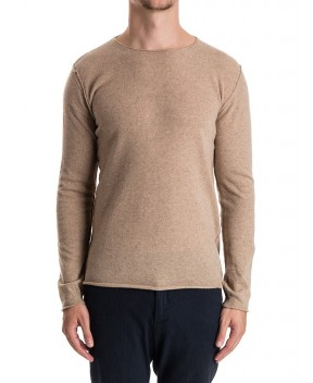 MAGLIA IN CASHMERE BEIGE - Maglie BELLWOOD