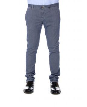 PANTALONE CHINO GRIGIO - Pantaloni INCOTEX