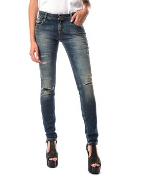 JEANS SKINNY BLU - Jeans&Denim CYCLE