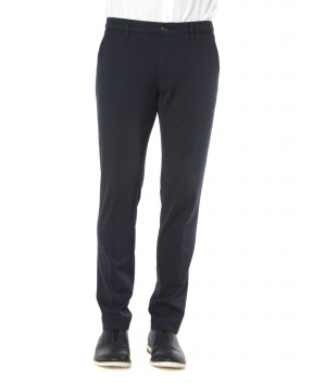PANTALONI POOL BLU SCURO - Pantaloni PENCE