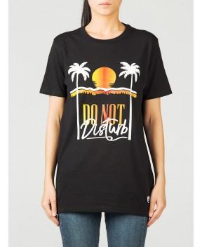 T-SHIRT NERA MAXI STAMPA - T-Shirt&Top CHIARA FERRAGNI