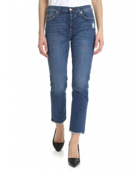 JEANS ASHER BLU - Jeans&Denim 7 FOR ALL MANKIND