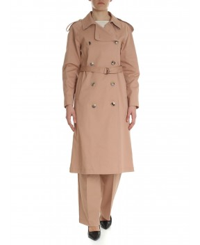 TRENCH PERSEY ROSA ANTICO - Trench&Impermeabili SEMICOUTURE