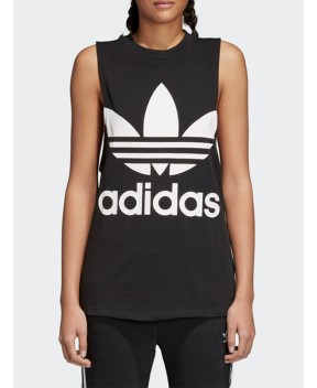 TOP TREFOIL NERO - T-Shirt&Top ADIDAS