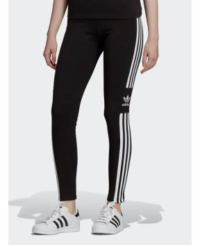 LEGGINGS TREFOIL NERO - Pantaloni ADIDAS