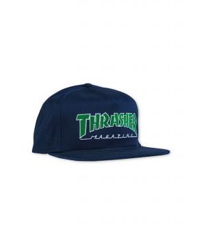 CAPPELLO OUTLINED BLU - Cappelli THRASHER