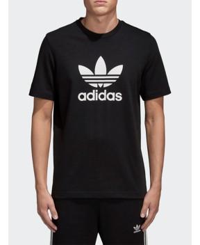 T-SHIRT TREFOIL NERA - T-Shirt ADIDAS