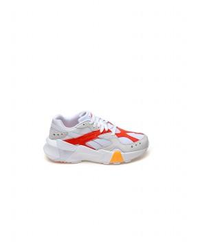 SNEAKERS AZTREK DOUBLE 93 BIANCHE E ROSSE - Sneakers REEBOK