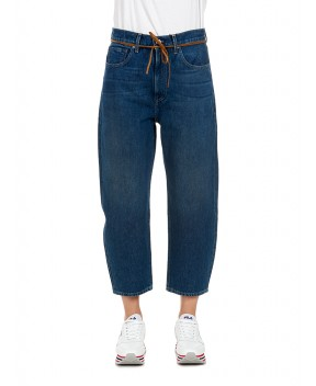 JEANS BARREL CROP BLU - Jeans&Denim LEVI'S MADE&CRAFTED