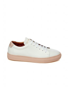 SNEAKERS EDITION 3 LOW BIANCHE E ROSA - Sneakers NATIONALSTANDARD
