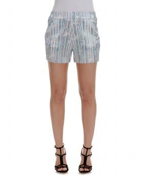 SHORTS LAMINATI - Bermuda&Shorts JIJIL