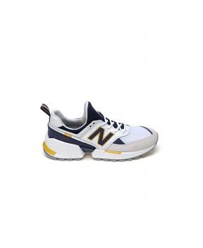 SNEAKERS 574 SPORT BIANCA E BLU - Sneakers NEW BALANCE