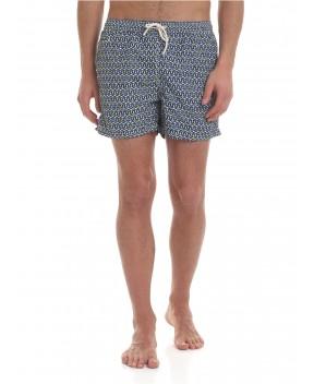 COSTUME LIGHTING BLU STOP BOAT FLUO - Costumi&Beachwear MC2 SAINT BARTH