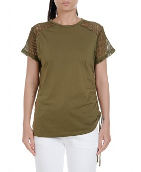 T-SHIRT MURRAY VERDE MILITARE - T-Shirt&Top 8PM