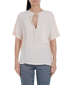 BLUSA BISSET ROSA CIPRIA - Camicie&Bluse 8PM