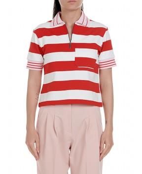 POLO CROP A RIGHE - T-Shirt&Top GAELLE PARIS