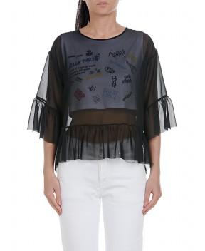 TOP A DOPPIO STRATO - T-Shirt&Top GAELLE PARIS