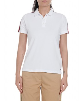 POLO ESSENTIAL REGULAR BIANCA - T-Shirt&Top TOMMY HILFIGER ICONS