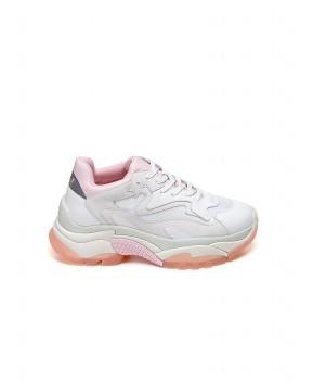 SNEAKERS ADDICT BIANCHE E ROSA - Sneakers ASH