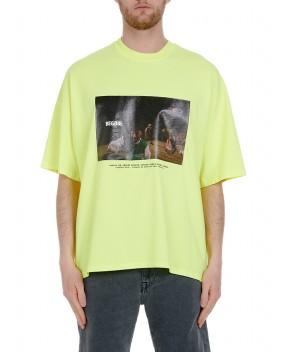 T-SHIRT BEGBIE GIALLA FLUO - T-Shirt BONSAI