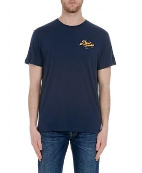 T-SHIRT MOFUN BLU - T-Shirt DEUS EX MACHINA
