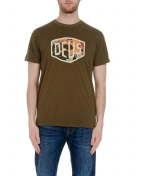 T-SHIRT CHULO VERDE MILITARE - T-Shirt DEUS EX MACHINA