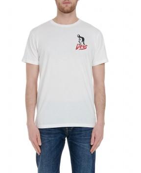 T-SHIRT PAUL MCNEIL HARAJUK BIANCA - T-Shirt DEUS EX MACHINA