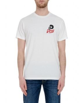 T-SHIRT PAUL MCNEIL CAMPERD BIANCA - T-Shirt DEUS EX MACHINA