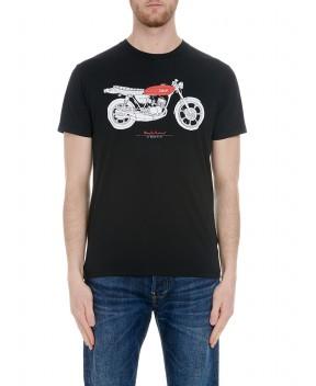 T-SHIRT MATCH THREE NERA - T-Shirt DEUS EX MACHINA