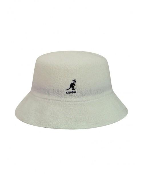 CAPPELLO ALLA PESCATORA BERMUDA BIANCO - Cappelli KANGOL