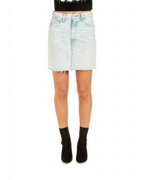 GONNA MOSS IN DENIM AZZURRA - Gonne RAG & BONE