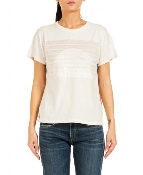 T-SHIRT BAHAMAS BURNOUT PANNA - T-Shirt&Top RAG & BONE