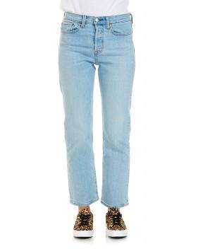 JEANS WEDGIE STRAIGHT AZZURRI - Jeans&Denim LEVI'S