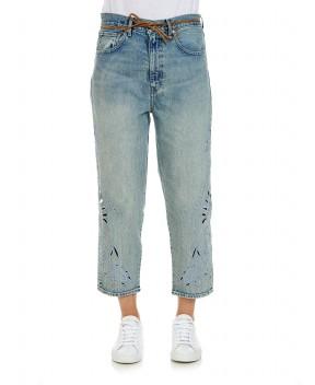 JEANS BARREL CROP RICAMATI - Jeans&Denim LEVI'S MADE&CRAFTED