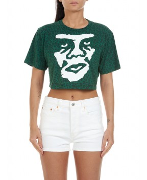 T-SHIRT THE CREEPER VERDE MACULATO - T-Shirt&Top OBEY