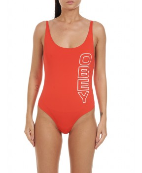 COSTUME STACKED OBEY SCORPION ROSSO - Costumi&Beachwear OBEY