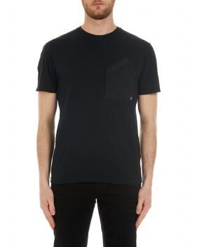 T-SHIRT NERA CON TASCHINO - T-Shirt C.P. COMPANY