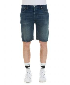 BERMUDA 501 BLU - Jeans&Denim LEVI'S