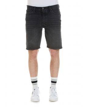 BERMUDA 501 NERI - Jeans&Denim LEVI'S