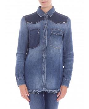 CAMICIA IN DENIM BLU - Camicie&Bluse 7 FOR ALL MANKIND