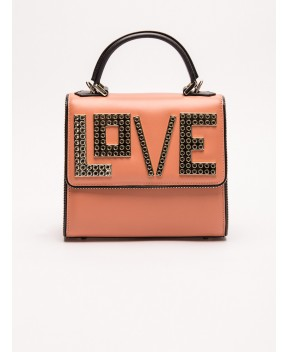 BORSA MINI ALEX GOLDEN LOVE METAL PIPING - Borse&Accessori LES PETITS JOUEURS