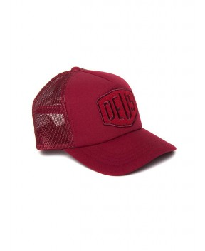 CAPPELLO TERRY SHIELD TRUCKER BORDEAUX - Cappelli DEUS EX MACHINA