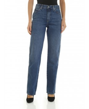 JEANS DRITTO BLU - Jeans&Denim CALVIN KLEIN