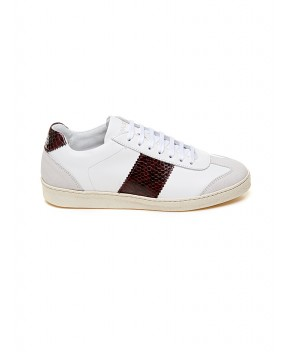 SNEAKERS EDITION 4 LOW BIANCHE E VINACCIA - Sneakers NATIONALSTANDARD
