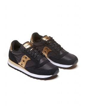 SNEAKERS JAZZ ORIGINAL NERE E ORO - Sneakers SAUCONY