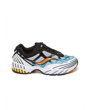 SNEAKERS GRID WEB BIANCHE - Sneakers SAUCONY