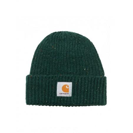 Carhartt Cappello in Lana Verde Logo