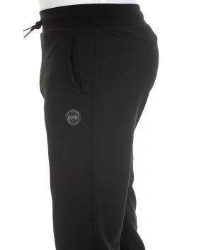 PANTALONE IN FELPA NERO - Pantaloni Track COLMAR RESEARCH